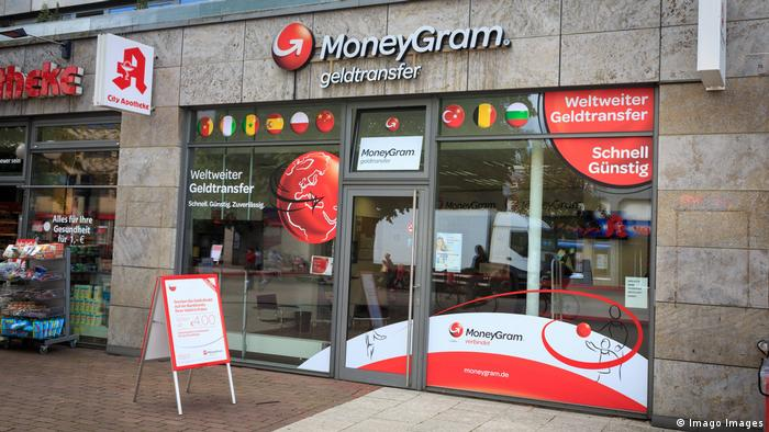 A MoneyGram branch in Hamburg (Imago Images)
