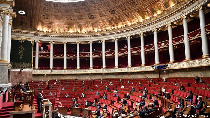 Francuski parlament tokom obraćanja premijera Filipa