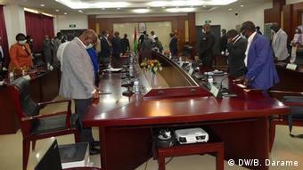 Guinea-Bissau Ministerrat der Regierung von Nuno Gomes Nabiam