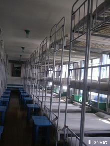 Расположение кроватей в тюрьме. Фото из архива Алексея Соколова