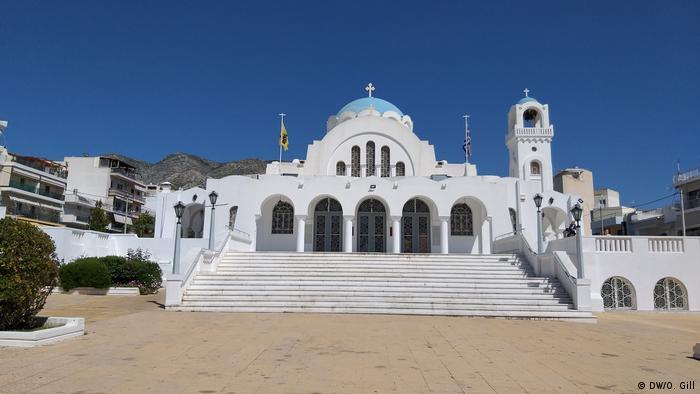 A Greek Orthodox church in Athens
