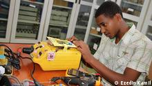 Ezedin Kamil ,Ethiopian young inventor who created mechanical ventilator and contact free hand washer from domestic materials to tackle the shortages following the Coronavirus epidemic. He has also over 30 creative works including 7 Android applications, 13 of of them have been patented by save ideas International.