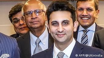 Indien Mumbai Prinz von Wales Adar Poonawalla Chef von Serum Institute of India