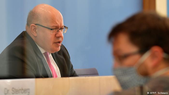 Министр экономики и энергетики Германии Петер Альтмайер