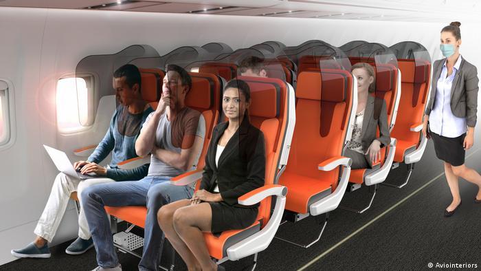 Redomas de plexiglas: proposta para isolar passageiros em tempos de coronavírus