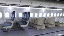 Vorschläge für eine alternative Flugpassagier-Beförderung wegen Corona