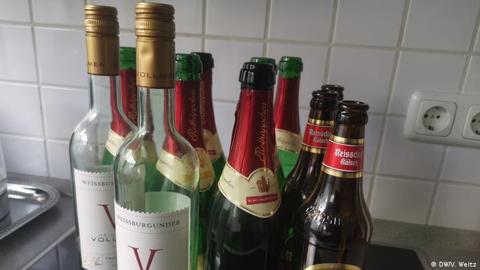 Wachsender Alkoholkonsum in Deutschland wegen Corona