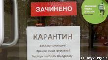 Ukraine Lwiw | Coronavirus | Thema Überleben von Restaurants