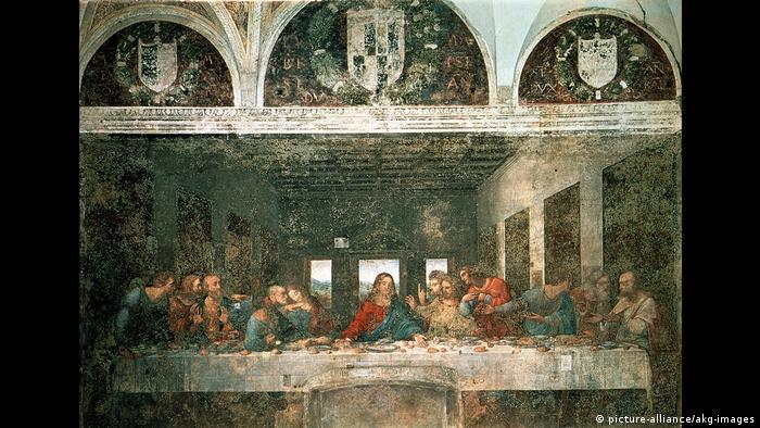 """Леонардовата """"Тайна вечеря"""" крие тайно предсказание за края на света, твърди италианската изследователка Сабрина Сфорца Галиция. Предположението е, че този край ще настъпи през 4006 година."""