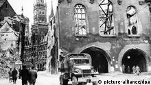 Zweiter Weltkrieg - Zerstörtes München
