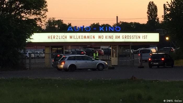 Deutschland Köln-Porz |Autokino Drive-In