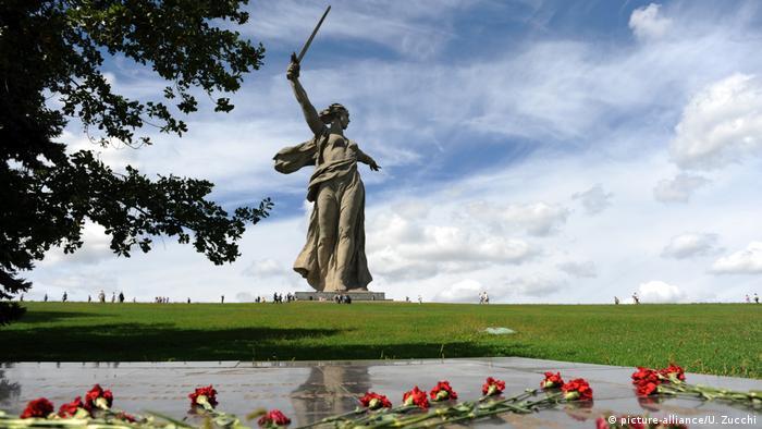 Мамаєв курган у Волгограді, Росія