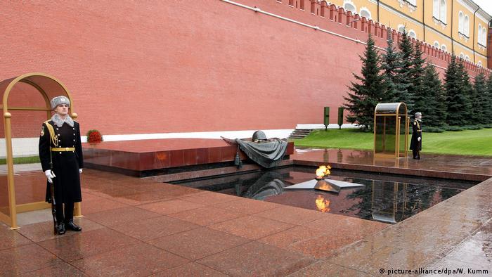 Могила невідомого солдата в Москві, Росія