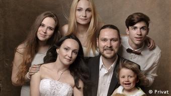 Семья Машковых, в которой трое приемных детей