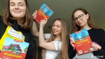 Natalia (pierwsza z lewej) i jej koleżanki ze szkoły europejskiej we Frankfurcie nad Odrą