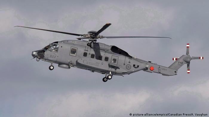 A CH-148 Cyclone maritime helicopter (picture-alliance/empics/Canadian Press/A. Vaughan)