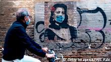 BdTD | Bild des Tages deutsch | Italien | Coronavirus | Streetart | Harry Greb