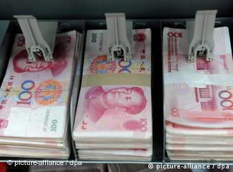 Fresh renmimbi notes - Beijing insists the currency is not undervalued