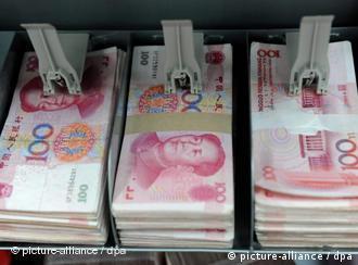 Symbolbild China Chinesische Währung Renminbi Yuan