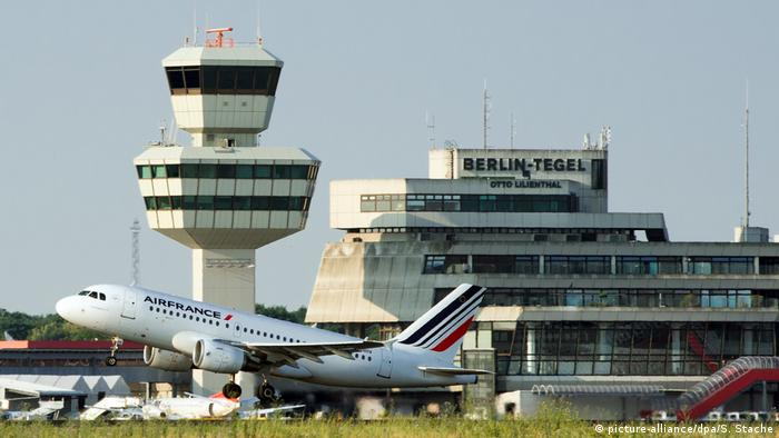 Flughafen Tegel | Airbus von Air France bei Start