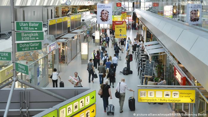 Tegel's main terminal in busier days