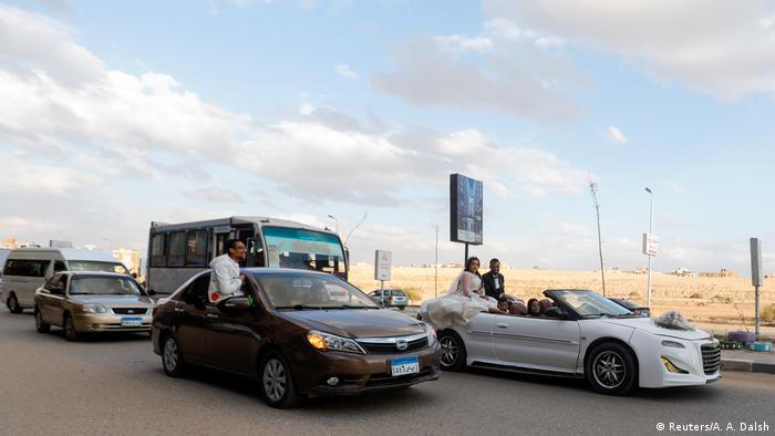 Coronavirus   Hochzeit   Liebe   Paar   Ägypten   Kairo (Reuters/A. A. Dalsh)