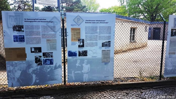 Wystawa na wolnym powietrzu - Centrum Dokumentacji Pracy Przymusowej Berlin-Schöneweide