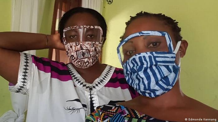 Kamerun Gesichtsmaske von Ange Goufack (Edmonde Kennang)