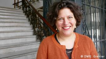 Ruth Ur, Vertreterin der Holocaust-Gedenkstätte Yad Vashem in Berlin