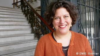 Ruth Ur, director of the German branch of the Israeli Holocaust memorial Yad Vashem