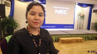 Tin Tin Nyo of the Burma News International (BNI) organization is concerned about ethnic minority media