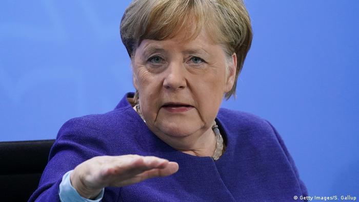 Deutschland Berlin Pressekonferenz Coronavirus   Angela Merkel