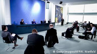 Deutschland Berlin Pressekonferenz Coronavirus (Getty Images/AFP/K. Nietfeld)