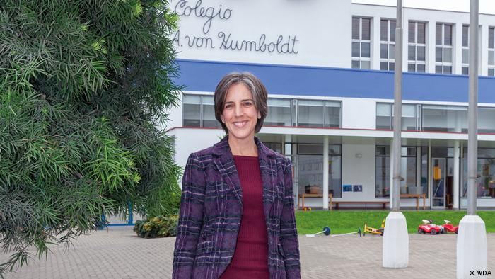 Ann-Katrin Petersen of the Humboldtschule in Lima, Peru