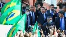 Brasilien Jair Bolsonaro in Porto Alegre