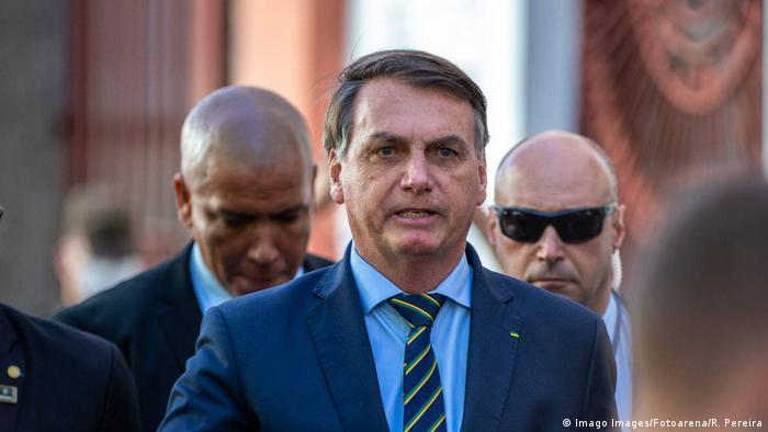 Spricht sich für eine Legalisierung der Goldgräberaktivitäten aus: Jair Bolsonaro (Foto: Imago Images/Fotoarena/R. Pereira)