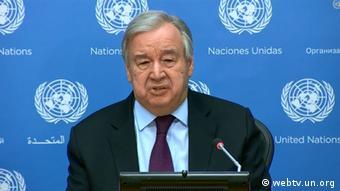 BM Genel Sekreteri Antonia Guterres