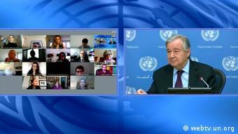 Антониу Гутерриш, генеральный секретарь ООН