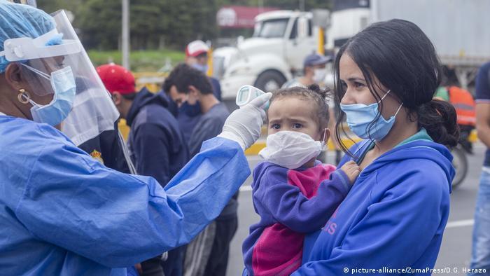 Kolumbien Migranten aus Venezuela