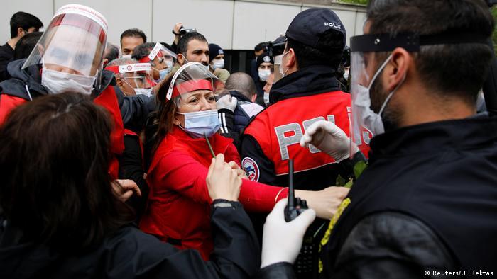 Türkei Istanbul 1. Mai Demonstration