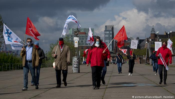 Deutschland - DGB Kundgebung am 1. Mai in Hamburg