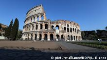 Italien Rom Geschlossenes Kolosseum
