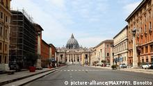 Italien Rom Leere Straßen