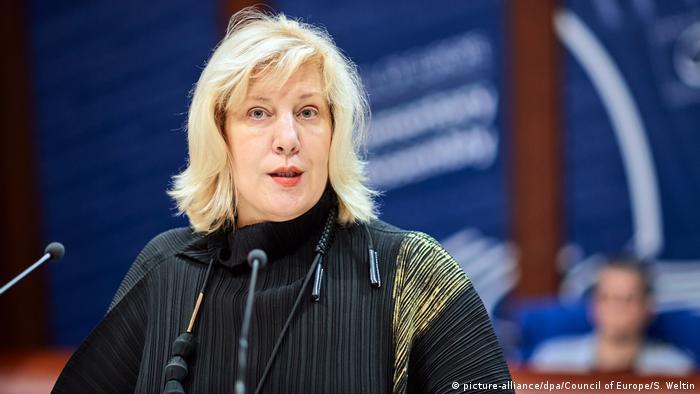 Komisarz praw człowieka Rady Europy Dunja Mijatovic