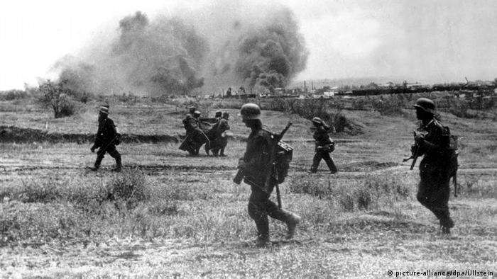 Russland Zweiter Weltkrieg Schlacht um Stalingrad   Deutsche Soldaten