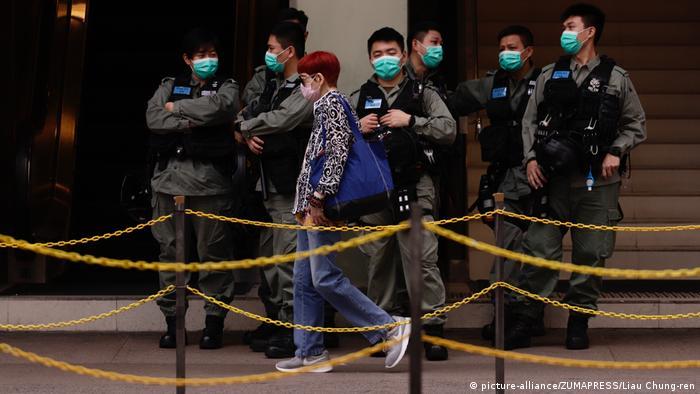 Coronavirus: Honk Kong reopening threatens to renew mass protests