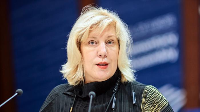 Avrupa Konseyi İnsan Hakları Komiseri Dunja Mijatovic