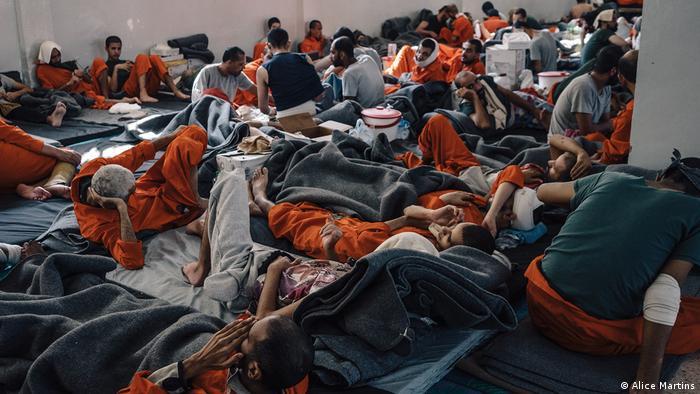 IS-zarobljenici u jednom kurdskom logoru