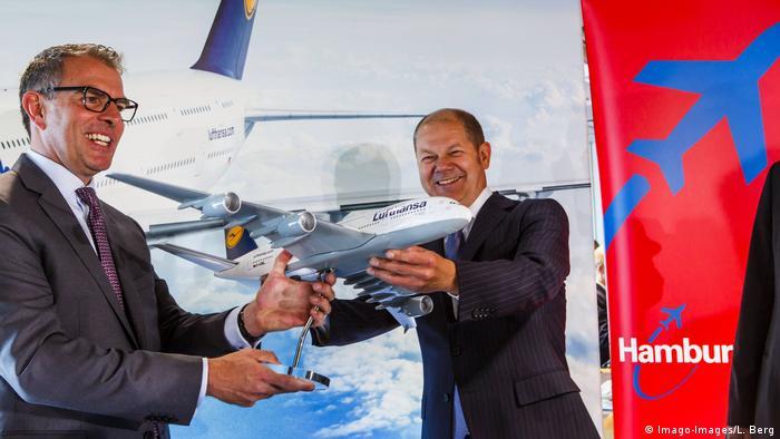 Deutschland Bundesregierung plant offenbar Direkteinstieg bei Lufthansa | Spohr und Scholz 2014