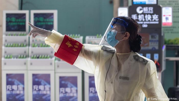 Naučnica u laboratoriji u Vuhanu